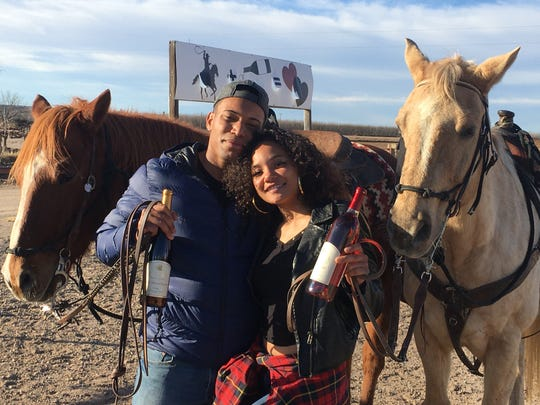 For a fun outdoor experience, enjoy a Wine and Ride to a local winery from the Miller Horse Farm in La Union, N.M.