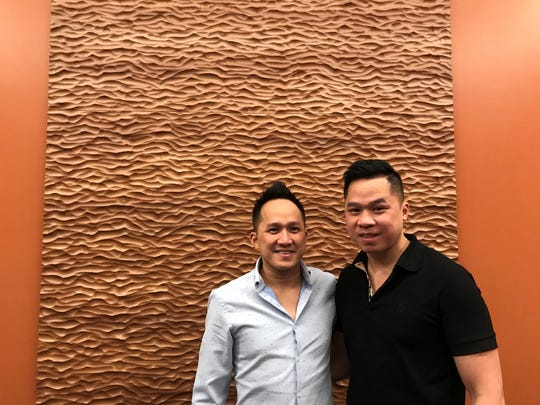Lemongrass Asian Fusion will open in downtown Wausau on Feb. 5, 2020. Co-owner Tuan Uong, right, is pictured here with his brother, Tu Uong. Tu owns a version of the same restaurant in California, where he lives. The family decided to bring the dining establishment to Wausau, where Tuan and wife Kelly live.