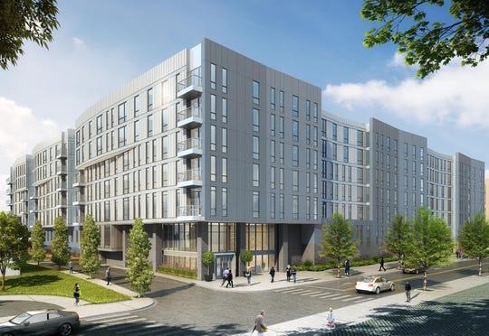 Rendering of 57 Alexander Street proposal