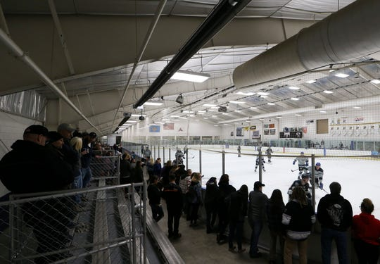 Centre Ice Arena in Harrington serves as home ice for the Delaware Thunder in its inaugural season.