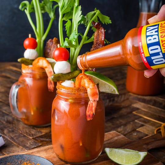 McCormick suggest using Old Bay Hot Sauce on chicken wings, soup and Bloody Marys.