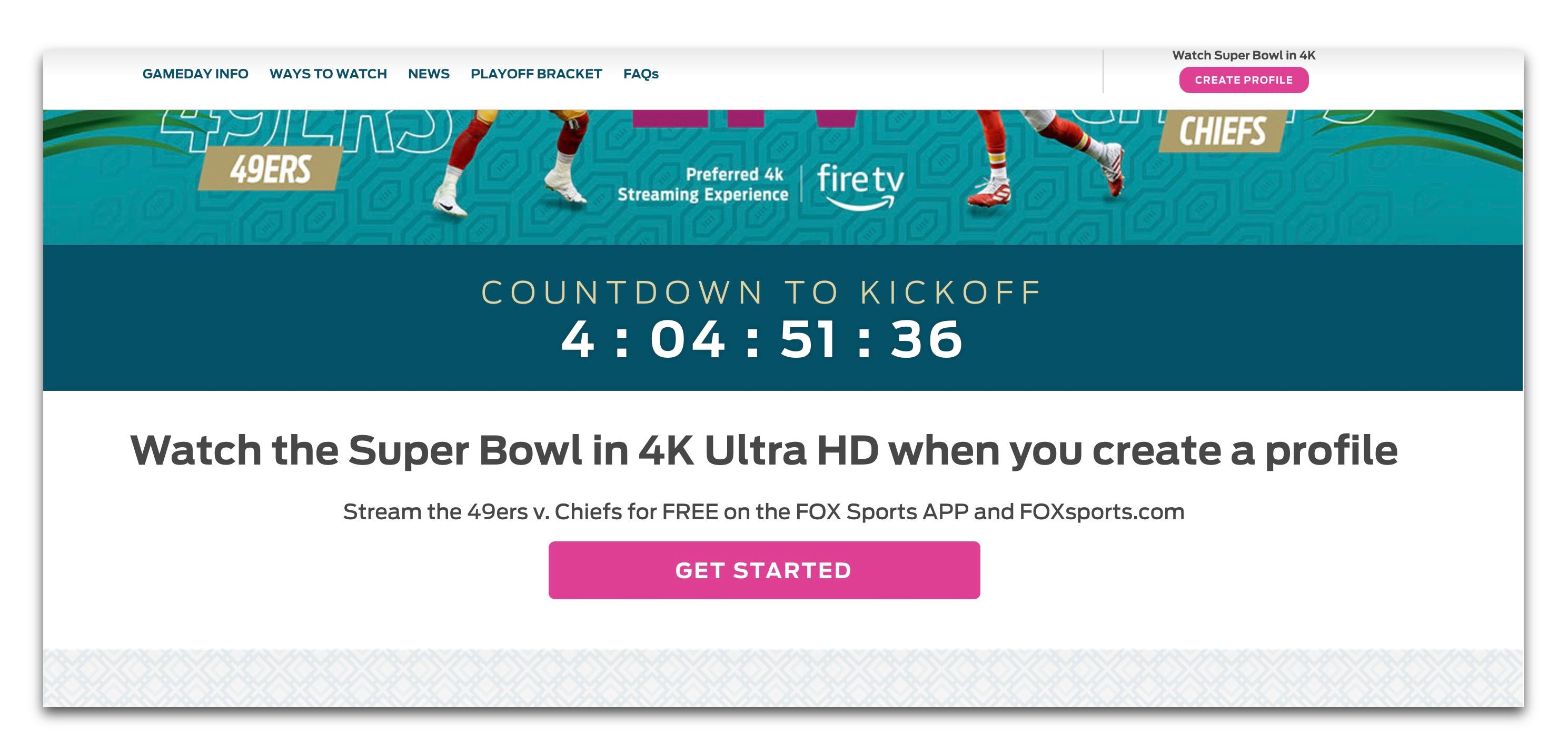 Super Bowl 2020 How To Watch Stream Without Paying For Cable