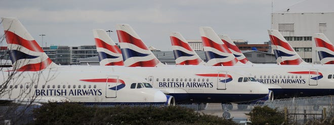 British Airways said it had suspended all its flights to and from China owing to the deadly coronavirus.