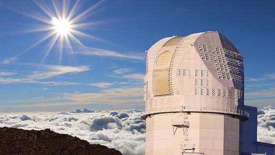 The Inouye Solar Telescope is located on the top of Mount Haleakala on Maui in Hawaii.