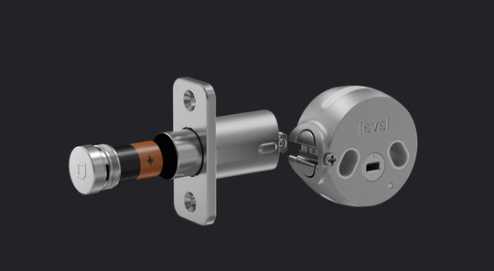 Level Lock was designed to install inside your door and transform your existing deadbolt.