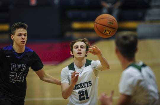 Raritan against Rumson Fair Haven in the Jersey Shore Challenge at Brookdale Community College in Lincroft on Jan. 29, 2020.