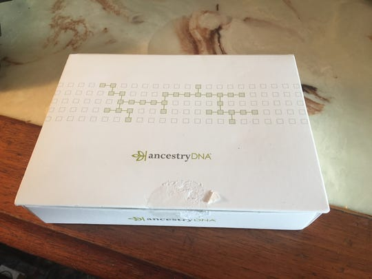 Gerald Smith's Ancestry DNA kit.