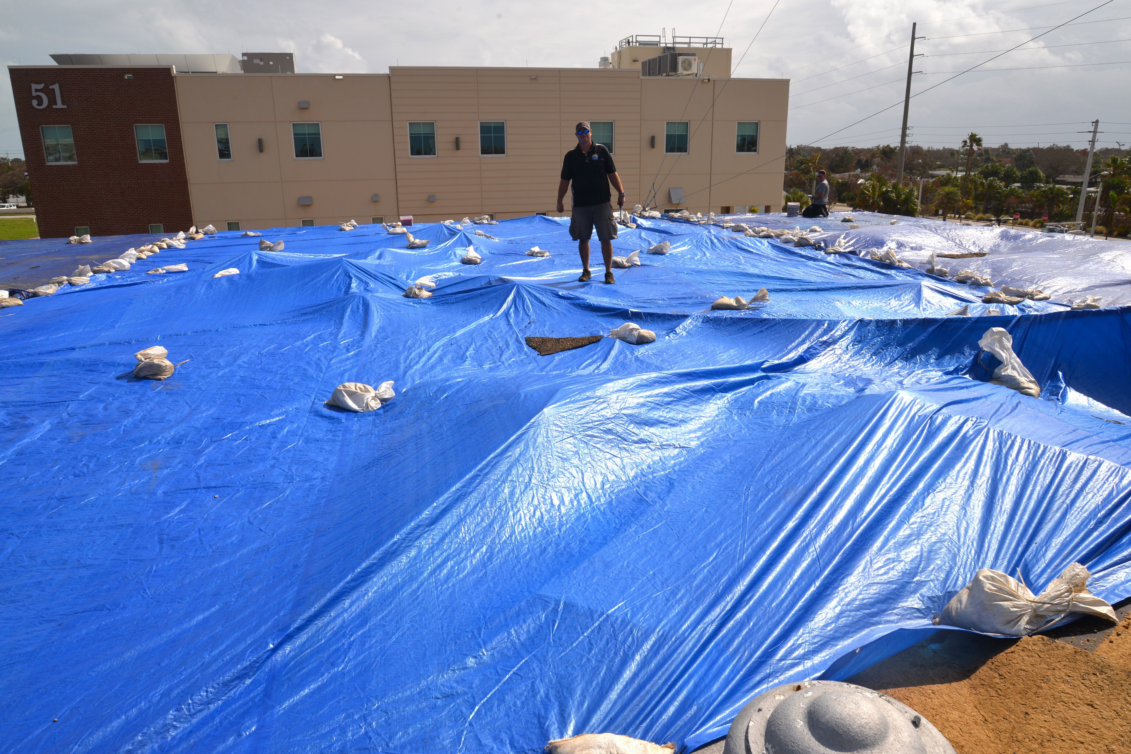 Part of the roof of Cocoa Beach City Hall peeled off during Hurricane Irma in 2017, flooding the police station and city hall. Census numbers are also important when it comes to federal disaster declarations and federal funds flowing to Florida for hurricane recovery.