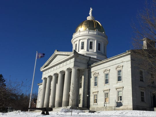 The Vermont Statehouse in Montpelier on Jan. 29, 2020.