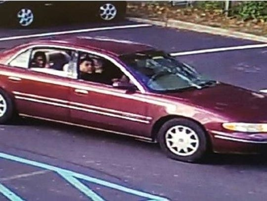 An appeals court has ruled a prosecution witness can testify she recognized Damian Sanchez of Camden as one of the men sitting in this car.