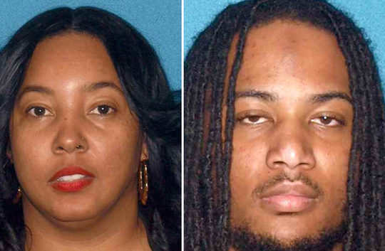 Tiffany Davis of Egg Harbor Township and Derrick Ross of Atlantic City are accused of forcing a 14-year-old girl into prostitution.