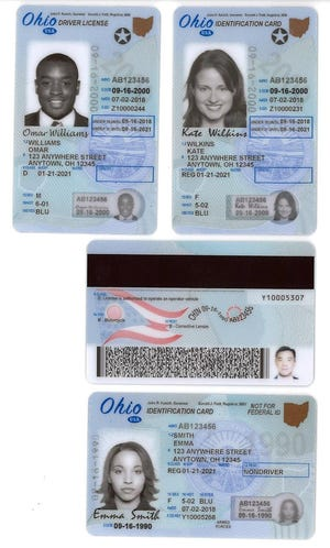The enhanced Ohio license will be required beginning Oct. 1, 2020, to board commercial airline flights and enter U.S. federal buildings and military bases.