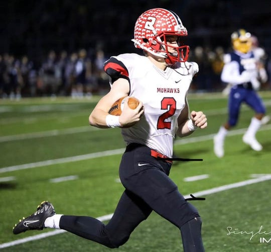 Middletown Madison's Connor Blaylock was a first-team All-Ohio defensive back for the Mohawks in 2019.