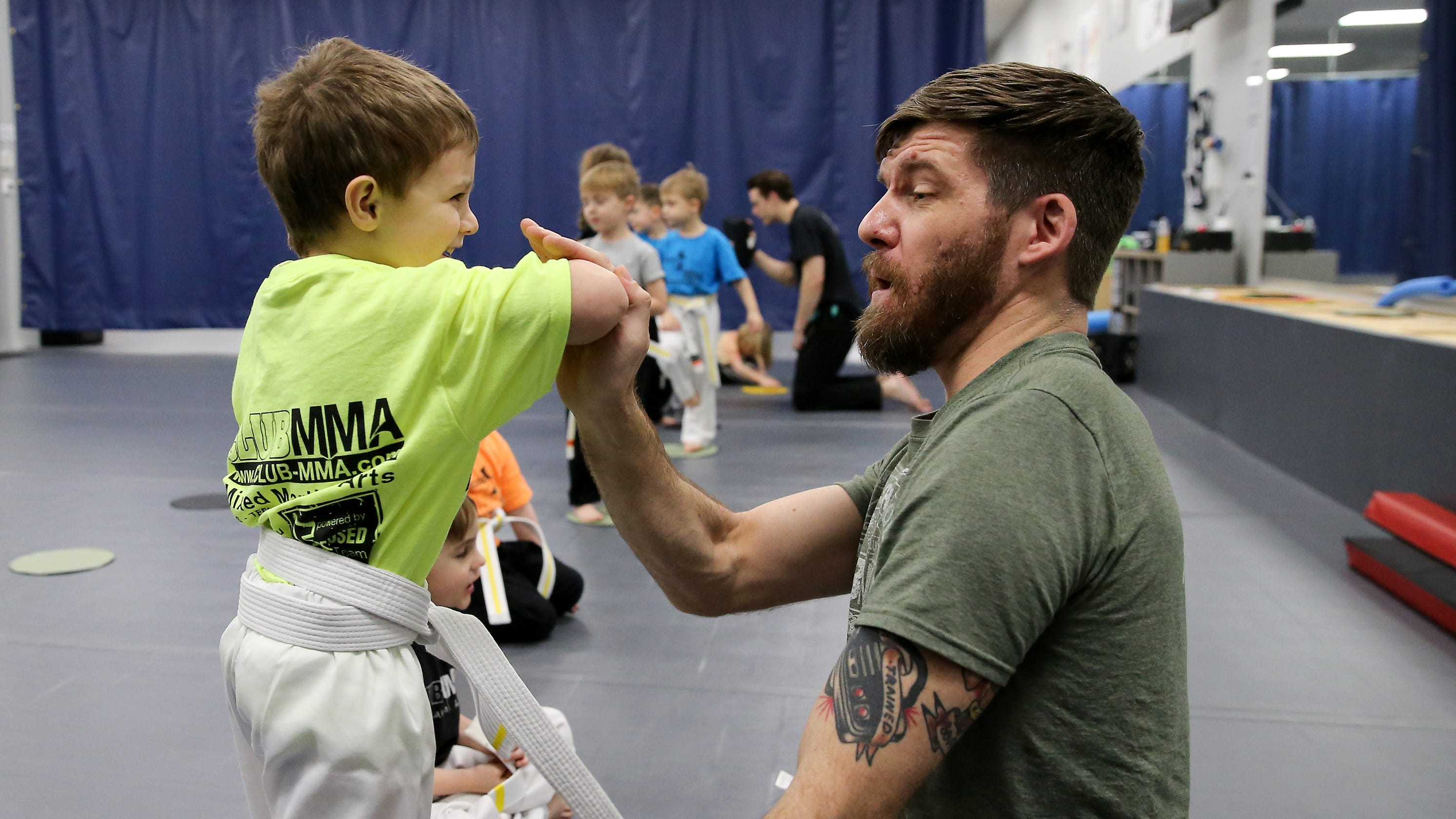 Can mixed martial arts change a life? West Side MMA Club owners say yes