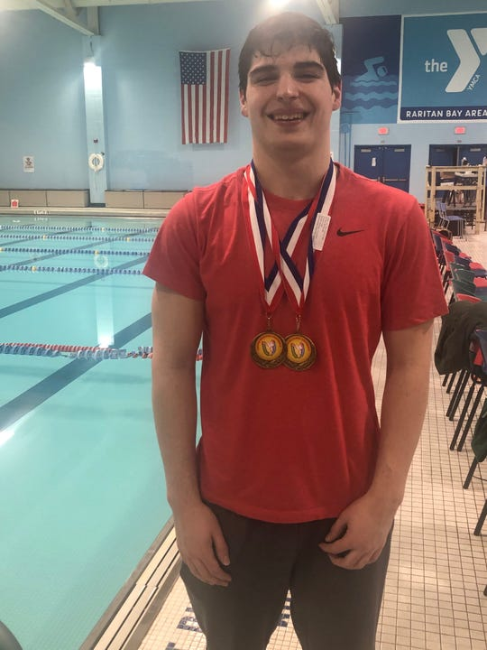Logan D'Amore of Scotch Plains soars to GMC swim records in Gold Medal Rush.
