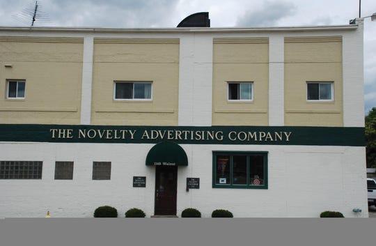 The Novelty Advertising Company at 1148 Walnut St.
