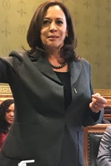 Kamala Harris meets with Des Moines Asian-Latino Coalition in the Capitol