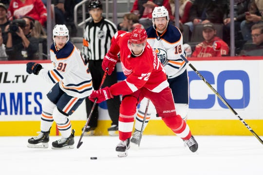 After he scored 30 goals last season, there was much anticipation and expectation for Andreas Athanasiou heading into this season.