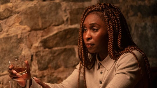 "Actress Cynthia Erivo is an investigator in the HBO miniseries ""The Outsider,"" a television adaptation of Stephen King's novel. (HBO)"