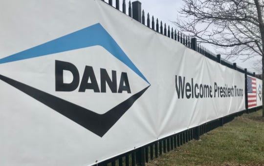 Dana Incorporated's plant in Warren hosted President Donald Trump on Thursday, Jan. 30, 2020, for an event where Trump touted a trade deal he signed a day earlier, the United States-Mexico-Canada Agreement.