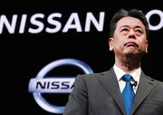In this Dec. 2, 2019, file photo, Nissan Chief Executive Makoto Uchida speaks during a press conference at the automaker's headquarters in Yokohama, near Tokyo.