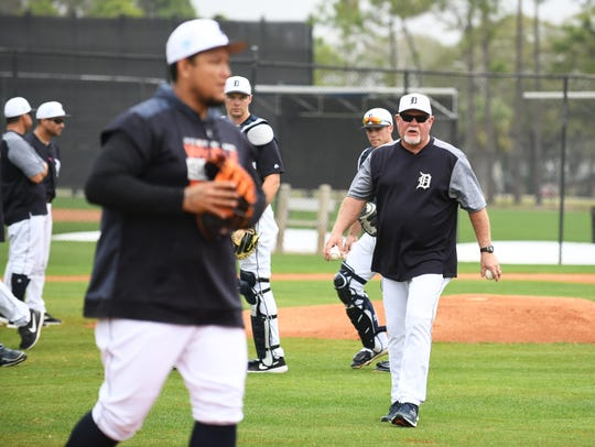 Ron Gardenhire and the Tigers play their first exhibition game on Feb. 21 against Southeastern University.