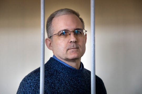 Paul Whelan of Novi has been imprisoned since his arrest for  alleged spying in Moscow on Dec. 28, 2018.