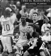 The Aces were seeded 14th in the 1993 NCAA tournament and lost in the first round to third-seeded Florida State, 82-70, in Orlando.