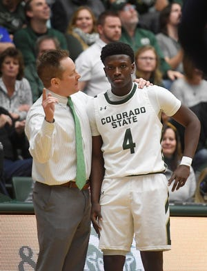 Colorado State freshman Isaiah Stevens leads the second-place Rams in scoring.