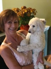 """Anita """"Kate"""" Johnson and her dog were struck and killed after a hit-and-run on McGregor Boulevard on Jan. 22, 2020."""