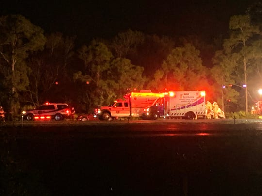 A multiple-vehicle injury crash shutdown all northbound lanes of I-75 Wednesday night shortly before 9 p.m.