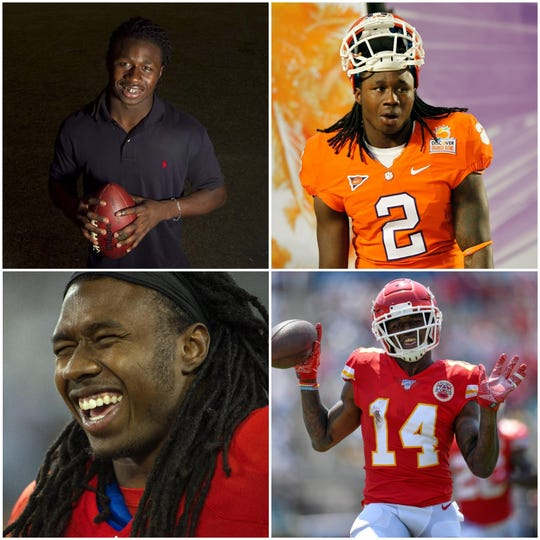 Kansas City Chiefs wide receiver and Fort Myers native Sammy Watkins will play in Super Bowl LIV on Sunday. Here is is look at his football career from South Fort Myers High to the NFL's biggest game.