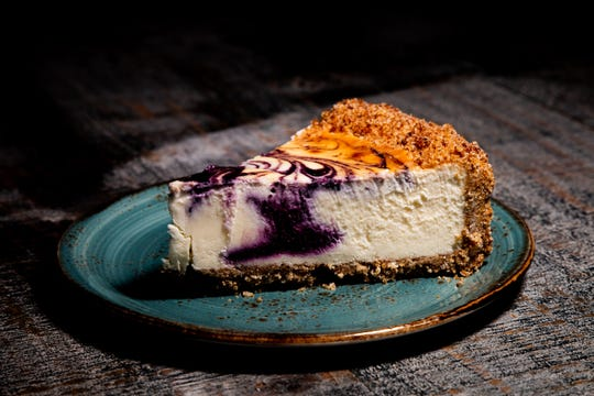 Cotton Blues, 6116 U.S. 98 in Hattiesburg, offers blueberry cheesecake as one of their flavors.