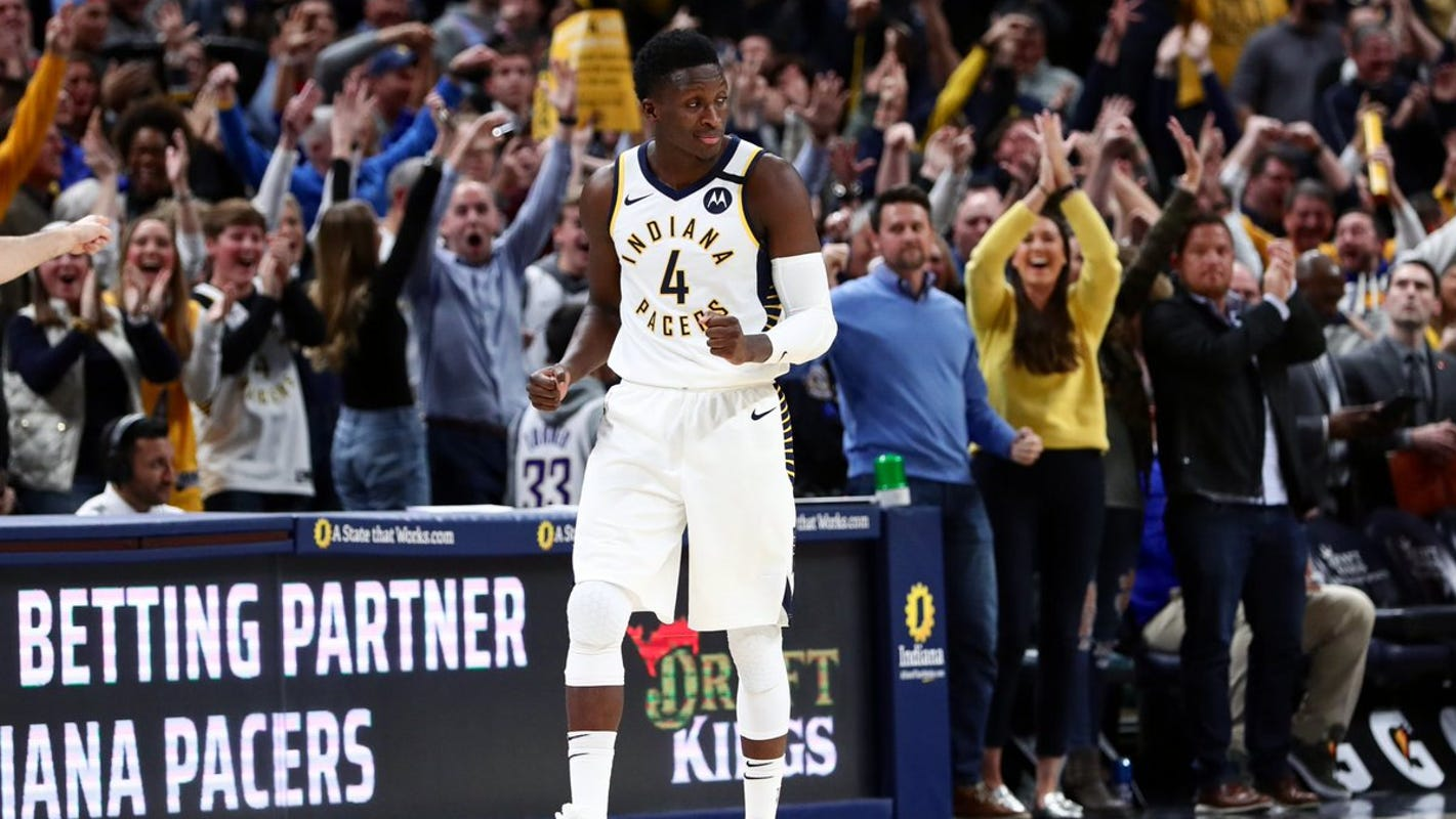 Victor Oladipo returns for the Indiana Pacers