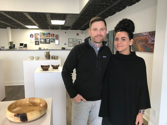 Mermgypsy Tattoo Studio & Gallery owners Jason Fisher and Krista Drummond recently opened their new business at 130 S. Columbus St. beside the Keller Market House.