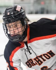 Brighton's Brady MacDonald scored the winning goal in a 3-2 victory over Detroit Country Day.