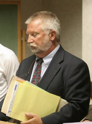 Kenneth Gorski represents a defendant in a 2005 court case. The Wisconsin Supreme Court reprimanded Gorski Thursday for his behavior while serving as Wood County Court commissioner.