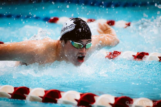 Crestview junior Ross Kuhn is looking for a return trip to the state meet for the Cougars.