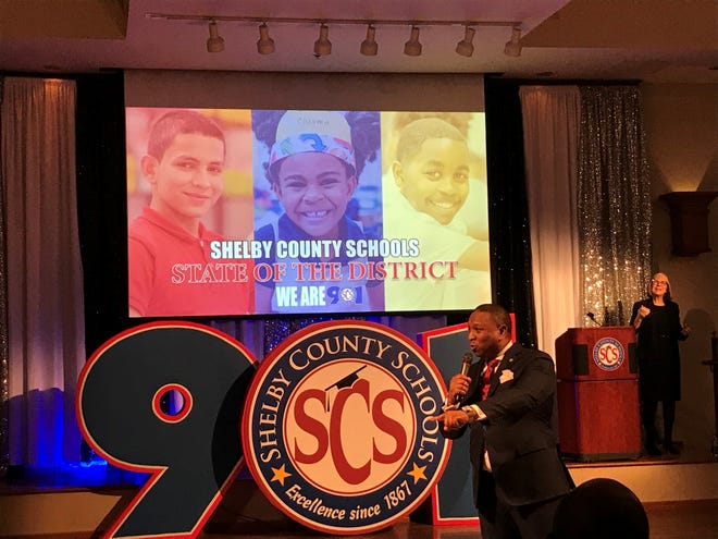 Shelby County Schools Superintendent Joris Ray gave a state of the district address to the community on the heels of his one-year anniversary in the position.
