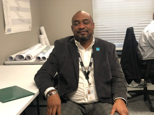 Malcolm Baker, a 21-year military veteran and former veteran representative for the State of Arkansas, during his first week helping launch 2020 Census efforts in Memphis, on Jan. 29, 2020.
