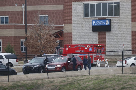 Kate Bond Middle School was evacuated Thursday after several students were sickened. The cause is still being investigated.