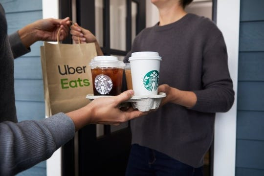 Starbucks Delivers is now available in Memphis.