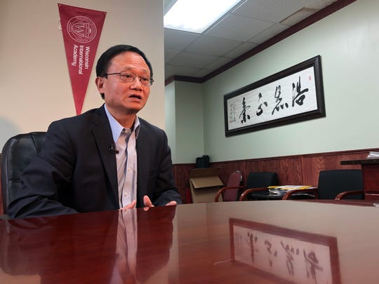 Jian-Guo Sun, the president of the Wisconsin International Academy in Wauwatosa, said one student there has been isolated after he recently returned from a trip to China.