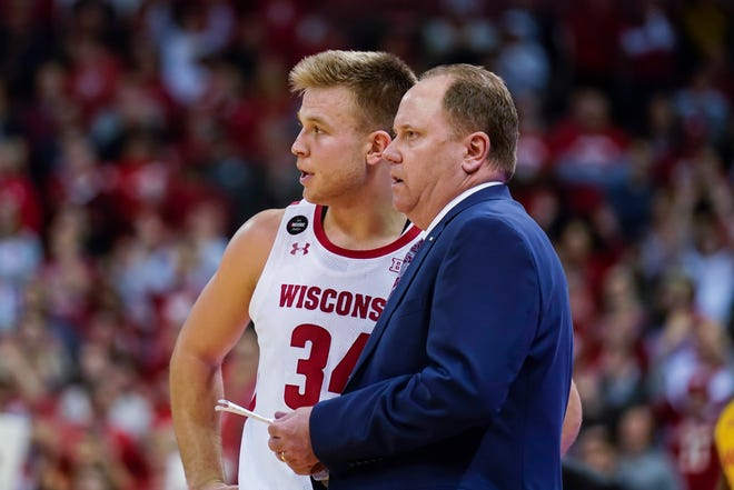 Coach Greg Gard, guard Brad Davison and other UW players are eager to move on from the team's struggles last season.