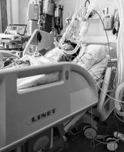 Kate Krzysik of Waukesha was placed in a medically-induced coma and on a ventilator at ProHealth Waukesha Memorial Hospital for about five days.