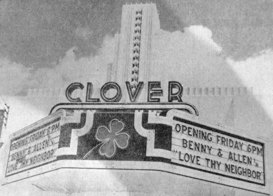 The Clover opened in Cloverdale in 1941. In 1962, the theater was remodeled and renamed Capri Theatre.