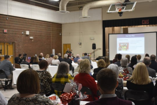 The Cheatham County School District hosted its second annual State of the District breakfast Tuesday, updating elected officials and community stakeholders on the district's accomplishments and challenges of the past year and its plans moving forward.