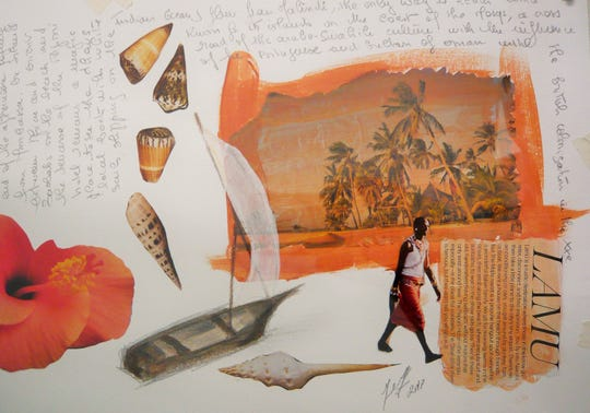 """A Trip to Lamu"" by J.G. Wilson at Naples Art"
