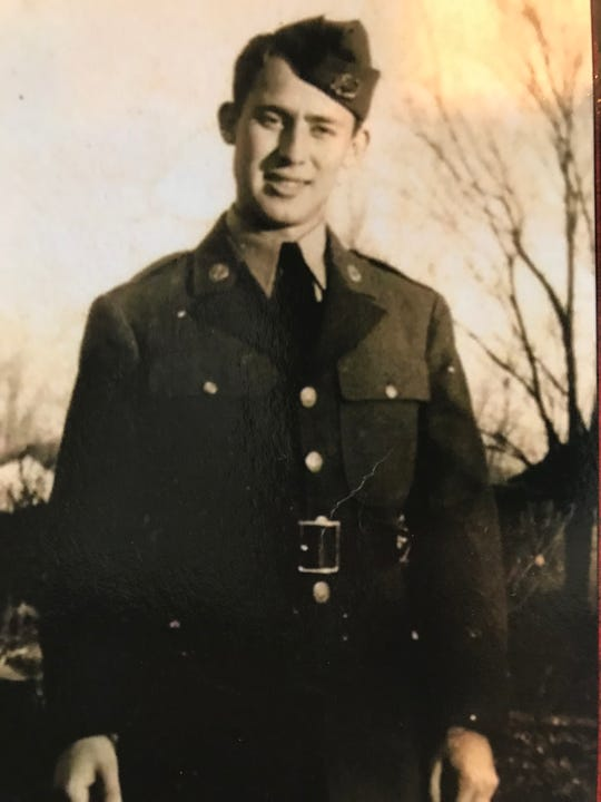 Robert Max served in the Army during World War II. He was captured by Nazi soldiers during the Battle of the Bulge and was subjected to slave labor, later escaping.