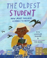 """""""The Oldest Student"""" by Rita Lorraine Hubbard, illustrated by Oge Mora"""